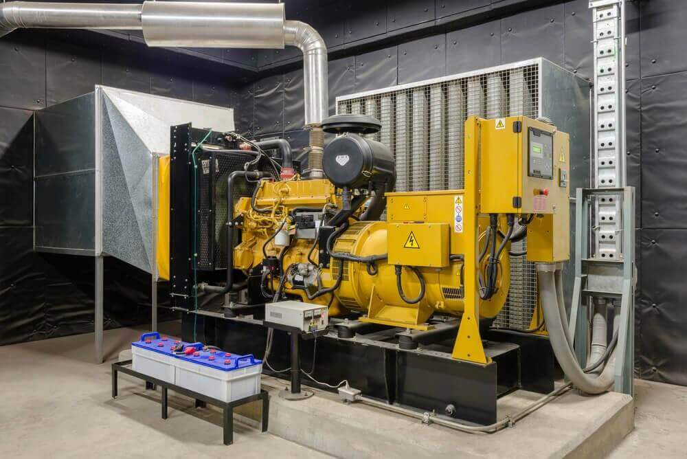 Commercial Diesel Generator System