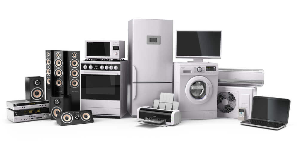 Range of Home Appliances