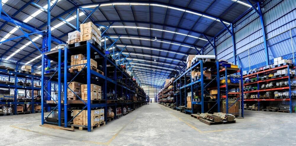 Industrial Warehouse Distribution and Storage Racking